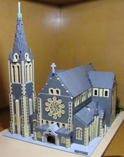 Sam Butcher's LEGO Cathedral