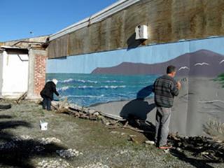 Sue Davidson's Blog: Mural Madness in Brighton
