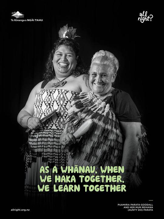 All Right? Te Waioratanga Posters