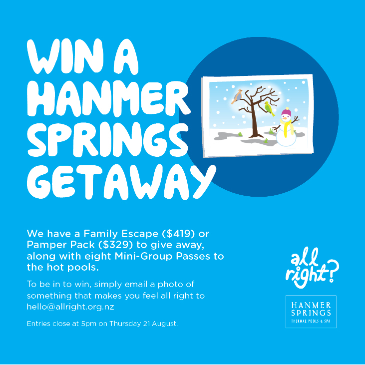 All Right? Campaigns and Projects: Hanmer Springs Competition