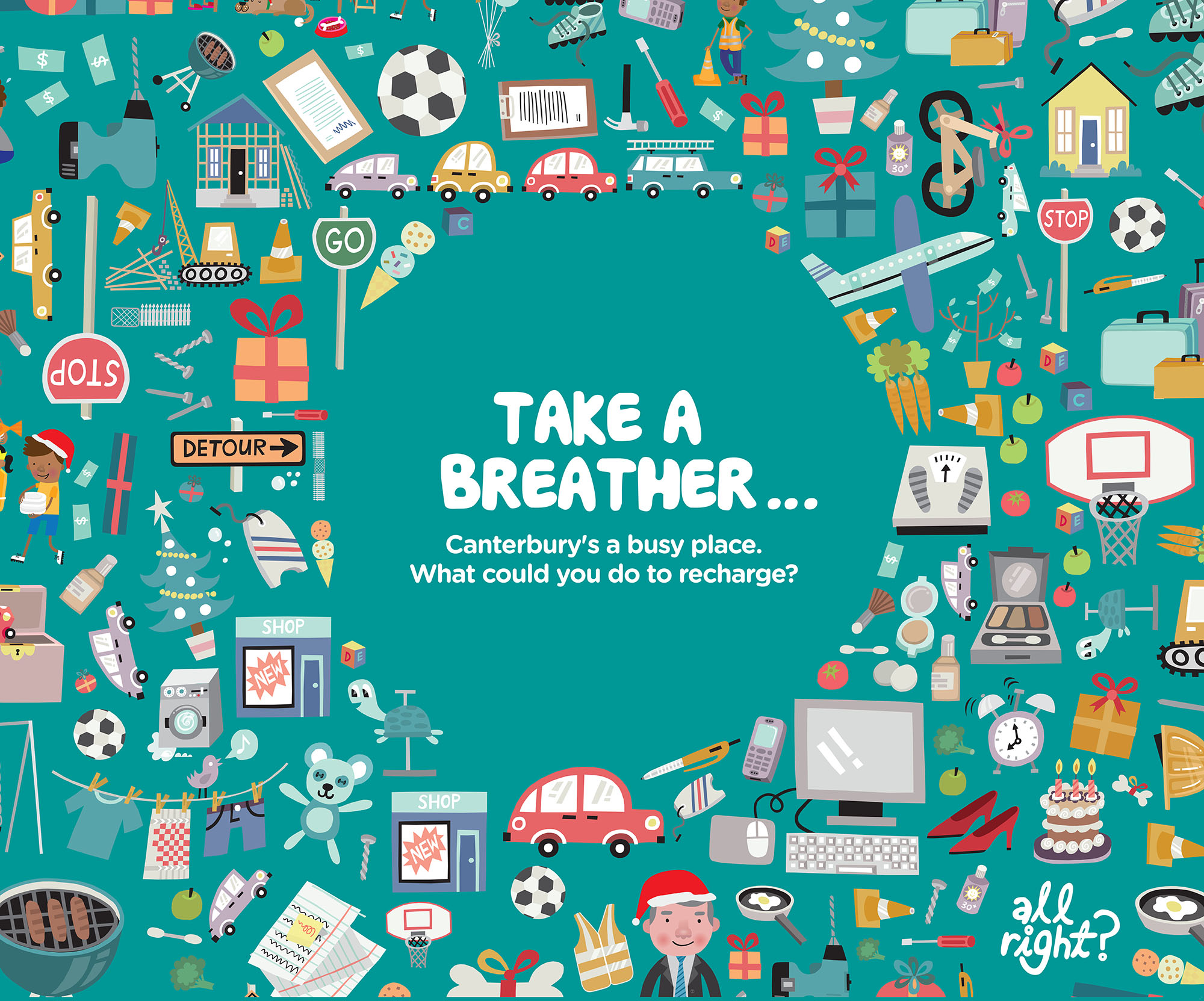 All Right? Campaigns and Projects: Take a Breather