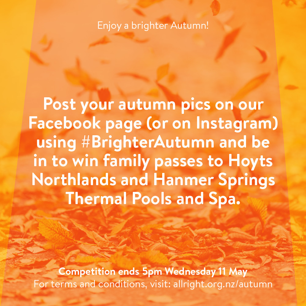 All Right? Campaigns and Projects: #BrighterAutumn
