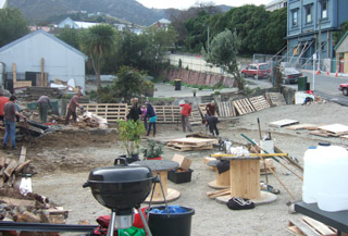 Gap Filler Project 08: Lyttelton Petanque Club
