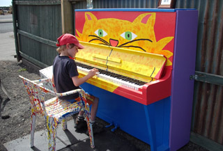 Gap Filler Project 11: The Painted Piano Project