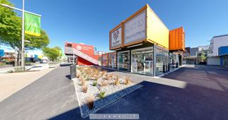Focus360 Panoramas: Cashel Street, between Oxford Terrace and Colombo Street