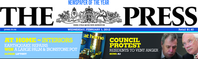 Christchurch Press Infographic: 1 February 2012 (1)