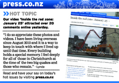 Christchurch Press Infographic: 1 February 2012 (4)