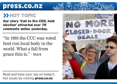 Christchurch Press Infographic: 3 February 2012 (2)