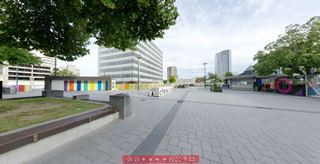 Focus360 Panorama: Cathedral Square, 4 January 2014