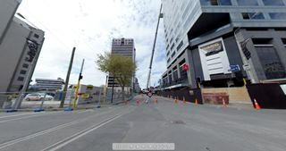 Focus360 Panorama: Colombo Street and Armagh Street, 5 March 2012