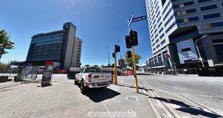 Focus360 Panorama: Colombo Street and Armagh Street, 7 February 2013