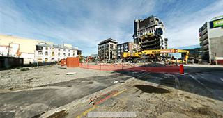 Focus360 Panorama: Manchester Street and Cashel Street, 24 May 2012