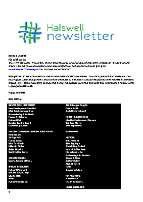 The Halswell Community E-Newsletter, March 2014