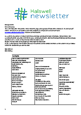 The Halswell Community E-Newsletter, April 2014