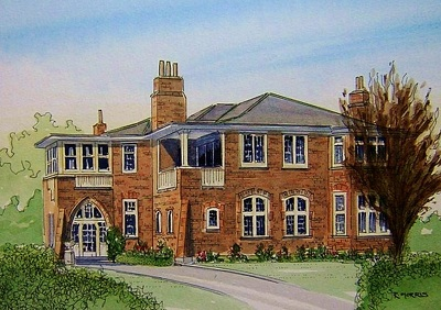 Raymond Morris's painting, 'Dorothys Hotel'