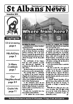 St Albans News, November 2010