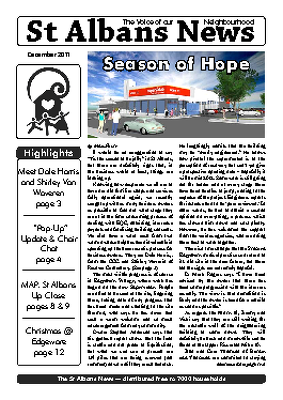 St Albans News, December 2011