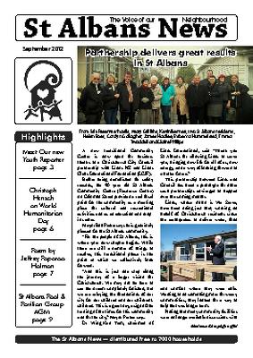 St Albans News, September 2012