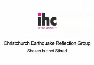 Christchurch Earthquake Reflection Group: Shaken but not stirred
