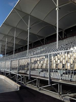 AMI Stadium Architecture Tour  Photograph 3