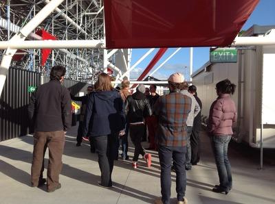 AMI Stadium Architecture Tour  Photograph 4