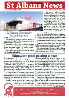 St Albans News, August/September 2015