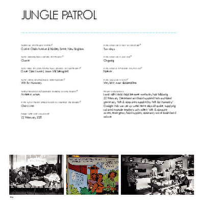 Christchurch: The Transitional City Pt IV, pages 126-127: Jungle Patrol