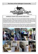 The Addington Times, March 2016