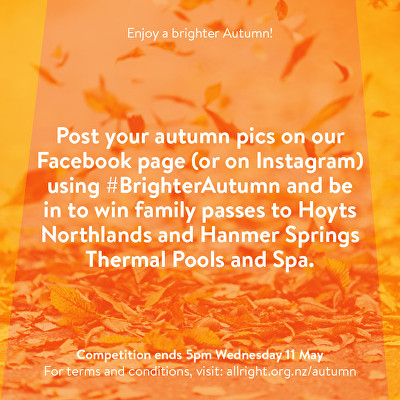 All Right? Campaigns and Projects: Brighter Autumn Image 1