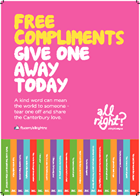 All Right? Posters: Compliments Poster 2013