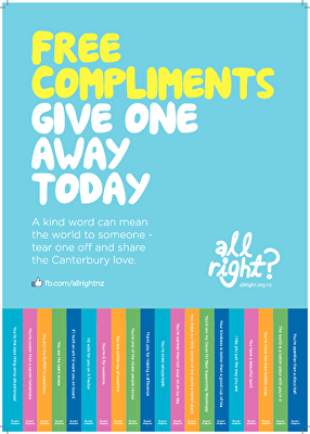 All Right? Posters: Compliments Poster 2014