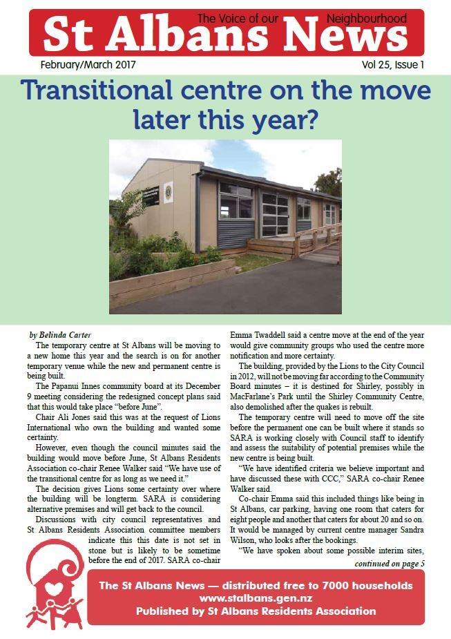 St Albans News, February/March 2017