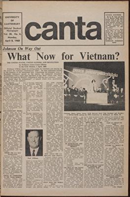 Canta April 1968, cover