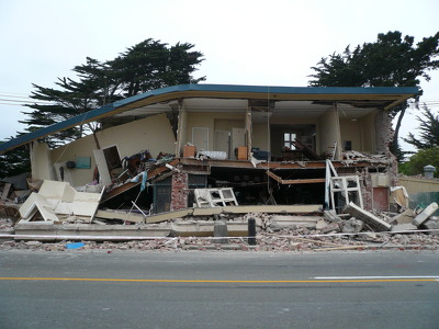 TJ's Kazbah, New Brighton After the Christchurch Earthquake (2)