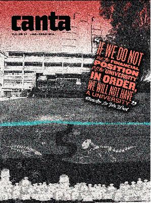 Canta Volume 83 Issue 19, 5 September 2012